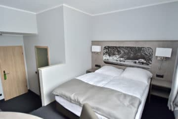 Komfort Einzelzimmer im GT3 Hotel am Nürburgring