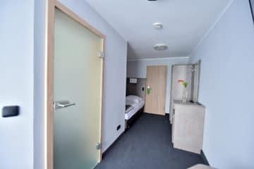 Standard Einzelzimmer im GT3 Hotel am Nürburgring